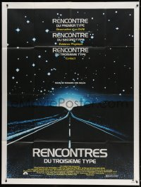 5j229 CLOSE ENCOUNTERS OF THE THIRD KIND French 1p 1978 Steven Spielberg sci-fi classic!