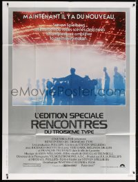 5j230 CLOSE ENCOUNTERS OF THE THIRD KIND S.E. French 1p 1980 Steven Spielberg classic w/new scenes!