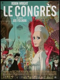 5j240 CONGRESS French 1p 2013 cool science-fiction cartoon directed by Ari Folman!