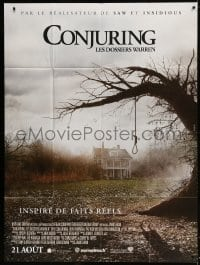 5j241 CONJURING advance French 1p 2013 based on the true case files of the Warrens, noose image!