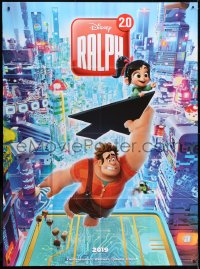5j735 RALPH BREAKS THE INTERNET advance French 1p 2018 great image of video game city, Ralph 2.0!