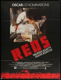 5j743 REDS French 1p 1981 star/director Warren Beatty as John Reed & Diane Keaton in Russia!