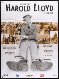 5j750 RETROSPECTIVE HAROLD LLOYD French 1p 2006 Why Worry, Girl Shy, Freshman, Kid Brother, Speedy
