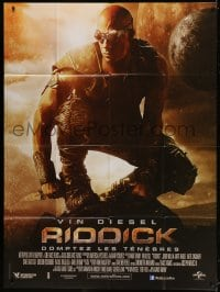 5j755 RIDDICK French 1p 2013 completely different image of Vin Diesel, sci-fi!