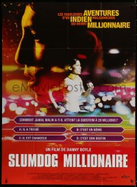 5j820 SLUMDOG MILLIONAIRE French 1p 2009 Danny Boyle, winner of Best Picture, Director & Screenplay!