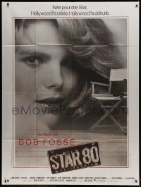 5j840 STAR 80 French 1p 1984 Mariel Hemingway as Playboy Playmate of the Year Dorothy Stratten!
