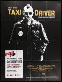 5j862 TAXI DRIVER French 1p R2015 best image of Robert De Niro with mohawk, Martin Scorsese!