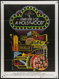 5j873 THAT'S ENTERTAINMENT French 1p 1975 classic MGM Hollywood, cool montage art!