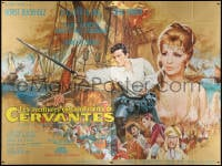 5j003 YOUNG REBEL French 4p 1968 best art of Gina Lollobrigida & Horst Buchholz by Jean Mascii!