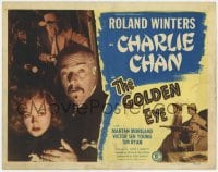 5m122 GOLDEN EYE TC 1948 Roland Winters as Charlie Chan, Victor Sen Young & Mantan Moreland!