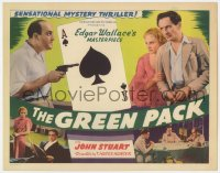 5m125 GREEN PACK TC 1940 Edgar Wallace's masterpiece, cool ace of spades gambling image!