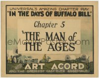 5m147 IN THE DAYS OF BUFFALO BILL chapter 5 TC 1922 Art Acord in Universal historical chapter play!