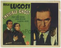 5m151 INVISIBLE GHOST TC 1941 creepy Bela Lugosi, Polly Ann Young, John McGuire, Clarence Muse