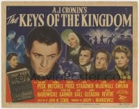 5m162 KEYS OF THE KINGDOM TC 1944 great montage of Gregory Peck, Vincent Price, and top cast!