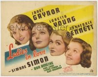 5m168 LADIES IN LOVE TC 1936 Janet Gaynor, Loretta Young, Constance Bennett & Simone Simon!