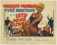 5m176 LET'S MAKE LOVE TC 1960 four images of super sexy Marilyn Monroe & Yves Montand!