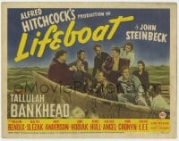 5m178 LIFEBOAT TC 1943 Alfred Hitchcock's adaptation of John Steinbeck's story of nine survivors!
