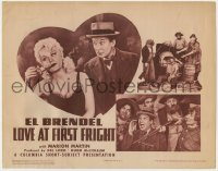 5m185 LOVE AT FIRST FRIGHT TC 1941 El Brendel, sexy Marion Martin, Columbia Short-Subject, rare!
