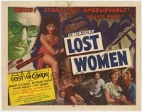 5m195 MESA OF LOST WOMEN TC 1952 grown up Jackie Coogan, Lost Women, 8 ft. spider, unbelievable!