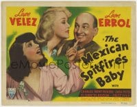 5m197 MEXICAN SPITFIRE'S BABY TC 1941 Lupe Velez & Leon Errol adopt 20 year-old Marion Martin!