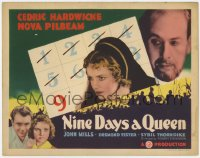 5m218 NINE DAYS A QUEEN TC 1936 Nova Pilbeam as Lady Jane Grey who was briefly Queen, Hardwicke