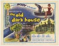 5m221 OLD DARK HOUSE TC 1963 William Castle's killer-diller with a nuthouse of terror!