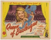 5m234 QUEEN OF BURLESQUE TC 1946 super sexy showgirl Evelyn Ankers is the Body Beautiful!