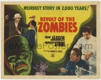 5m240 REVOLT OF THE ZOMBIES TC R1947 Dean Jagger in the weirdest story in 2,000 years!