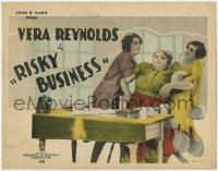 5m243 RISKY BUSINESS TC 1926 rich spoiled Vera Reynoldsloves a poor doctor, directed by Alan Hale!