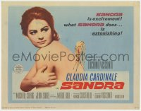 5m249 SANDRA TC 1966 Luchino Visconti's Vaghe stelle dell'Orsa, sexy naked Claudia Cardinale!