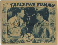5m738 TAILSPIN TOMMY chapter 2 LC 1934 Maurice Murphy & Noah Beery Jr. by plane, Mail Goes Through!