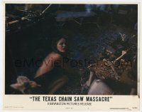 5m756 TEXAS CHAINSAW MASSACRE LC #5 1974 Tobe Hooper classic, girl cowering in torture room!