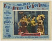 5m764 THERE'S NO BUSINESS LIKE SHOW BUSINESS LC #8 1954 Marilyn Monroe & top cast in costume!