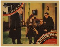 5m809 WHITE FACE LC 1933 Edgar Wallace's most popular mystery drama, tense scene with top cast!