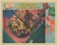 5m815 WORLD OF ABBOTT & COSTELLO LC #7 1965 Bud & Lou in wacky spaceship going to Mars!