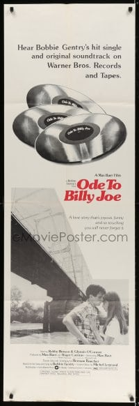 5p044 ODE TO BILLY JOE group of 2 door panels 1976 Robby Benson, Glynnis O'Connor, southern drama!