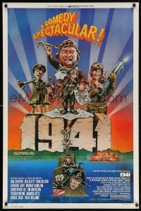 5r008 1941 style F 1sh 1979 Spielberg, art of John Belushi, Dan Aykroyd & cast by Green!