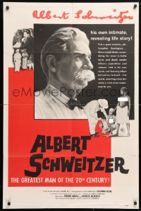 5r026 ALBERT SCHWEITZER 1sh 1957 the most idealistic doctor of the 20th century!