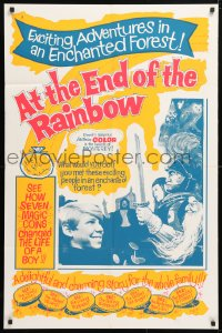 5r059 AT THE END OF THE RAINBOW 1sh 1965 Austin Green, family fairy-tale fantasy!