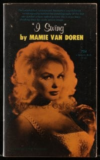 5s072 I SWING paperback book 1965 autobiography-behind-the-autobiography of sexy Mamie Van Doren!