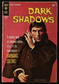 5s029 DARK SHADOWS #2 comic book 1969 Jonathan Frid as vampire Barnabas Collins from the TV show!