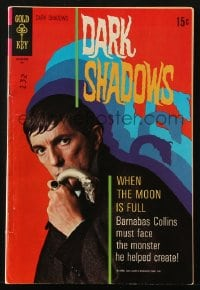 5s032 DARK SHADOWS #5 comic book 1970 Jonathan Frid as Barnabas Collins from the TV show!