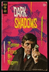 5s034 DARK SHADOWS #7 comic book 1970 Jonathan Frid as Barnabas Collins from the TV show!