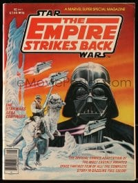 5s039 EMPIRE STRIKES BACK 8x11 comic book 1980 Marvel Super Special Magazine #16, great cover art!