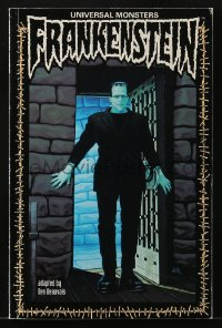 5s042 FRANKENSTEIN graphic novel 1993 Universal Monsters, great artwork by Den Beauvais!