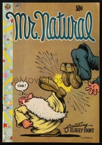 5s013 MR. NATURAL #1 third printing comic book 1970 underground comix created by Robert Crumb!