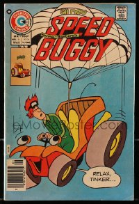 5s058 SPEED BUGGY #6 comic book 1976 great art of Hanna-Barbera's talking car!
