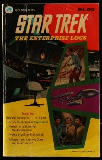 5s059 STAR TREK comic book 1976 The Enterprise Logs, issues 1 through 8 + Kirk's Psychofile!