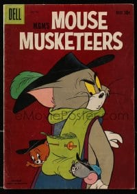 5s064 TOM & JERRY #16 comic book 1959 MGM's Mouse Musketeers, Dell comic!