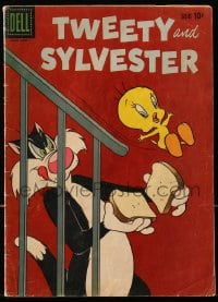 5s067 TWEETY & SYLVESTER #25 comic book 1959 the Looney Tunes cartoon cat wants to eat the bird!